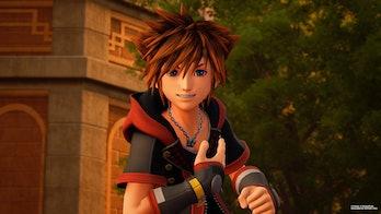 Sora in the 'Frozen' world in ''Kingdom Hearts III'.
