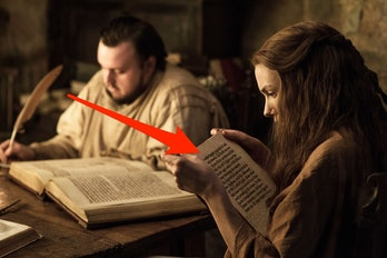Sam and Gilly research in 'Game of Thrones' Season 7
