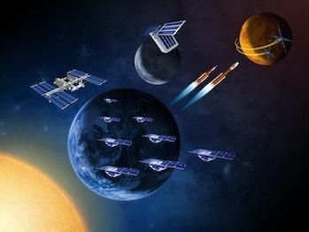 Small NASA satellites