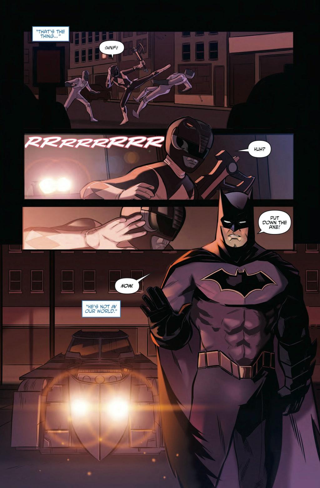 DC Comics Batman Power Rangers