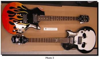 cocaine guitar