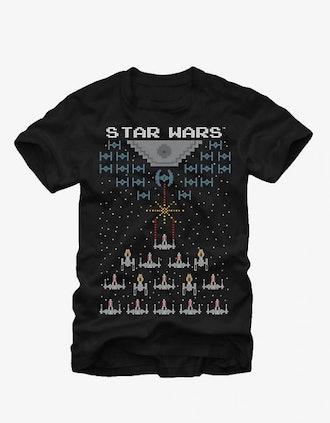 STAR WARS PIXEL BATTLE OF YAVIN T-SHIRT