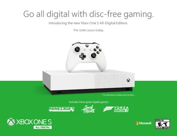 xbox all digital edition