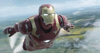 Iron Man Civil War MCU