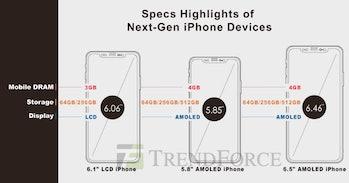 iphone 2018 apple