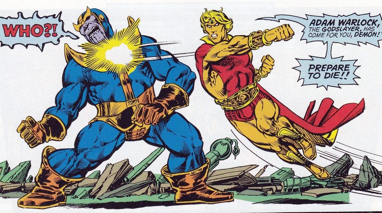 The Infinity Gauntlet Adam Warlock Avengers