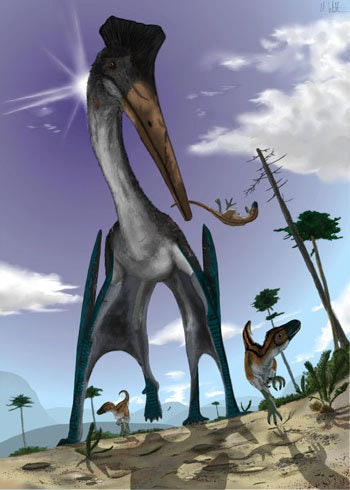 pterosaur hunting mark witton