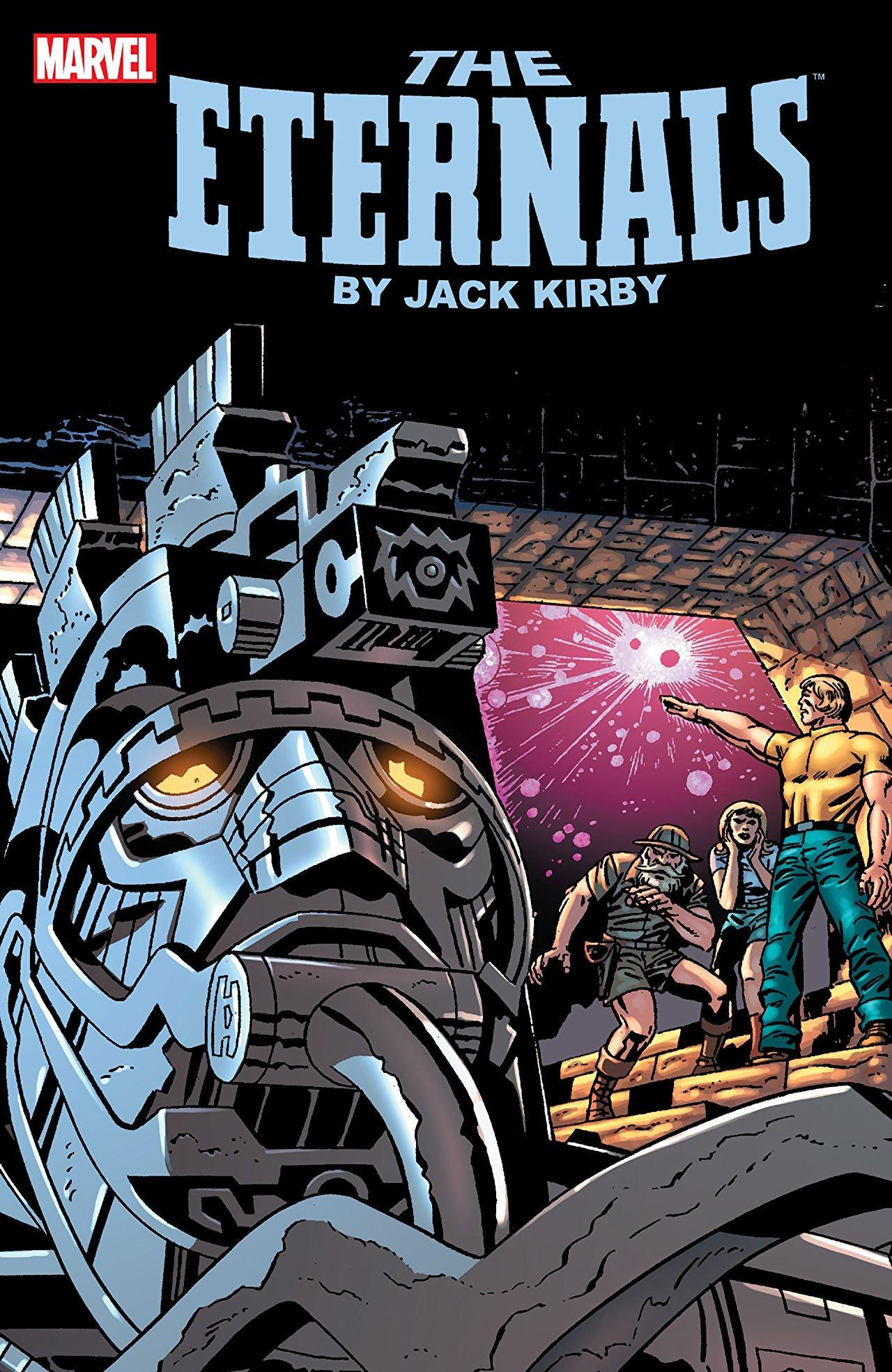 The Eternals Marvel Jack Kirby