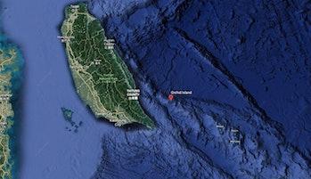 Lanyu Island map