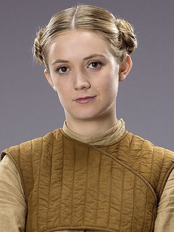 Billie Lourd in 'The Force Awakens'