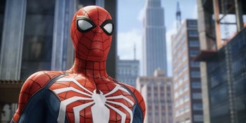'Spider-Man' PS4 Advanced Suit White Spider