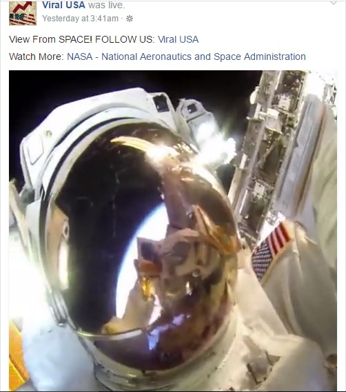 A screenshot of the Viral USA live event.