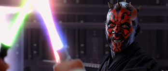 Darth Maul, a well known Sith Lord who also liked the color red.