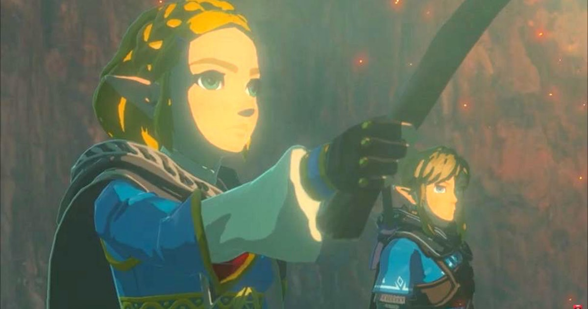Botw 2 Sequel Trailer Teases A Shocking New Playable Hero Zelda