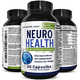 Neuro Health from Huntington labs