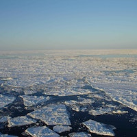 Long-lost landscapes, frozen for millennia, exposed by melting Arctic ice