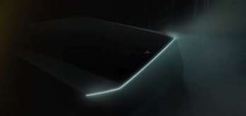 Tesla Pickup Teaser