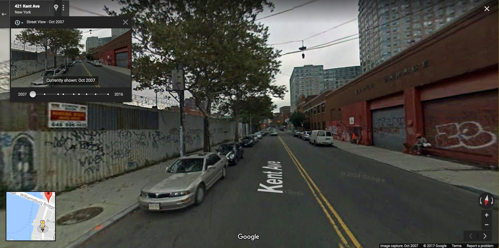gentrification Williamsburg changes before Kent Avenue development