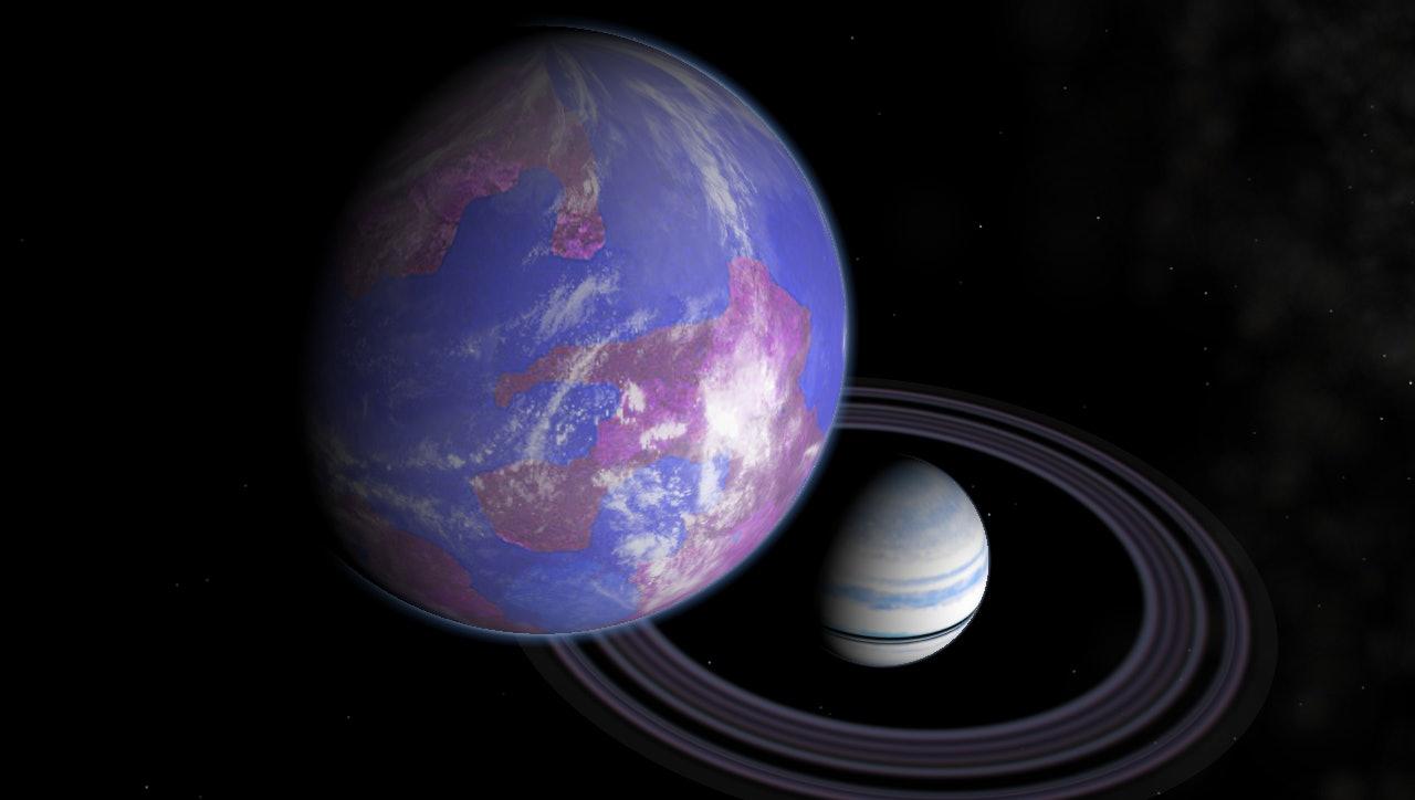 extraterrestrial blue moon