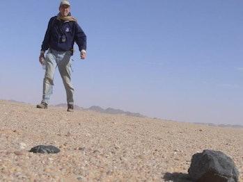 asteroid, Nubian Desert
