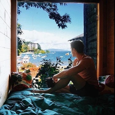 Chile, hostel