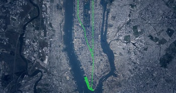 Manhattan Loop NYC park path