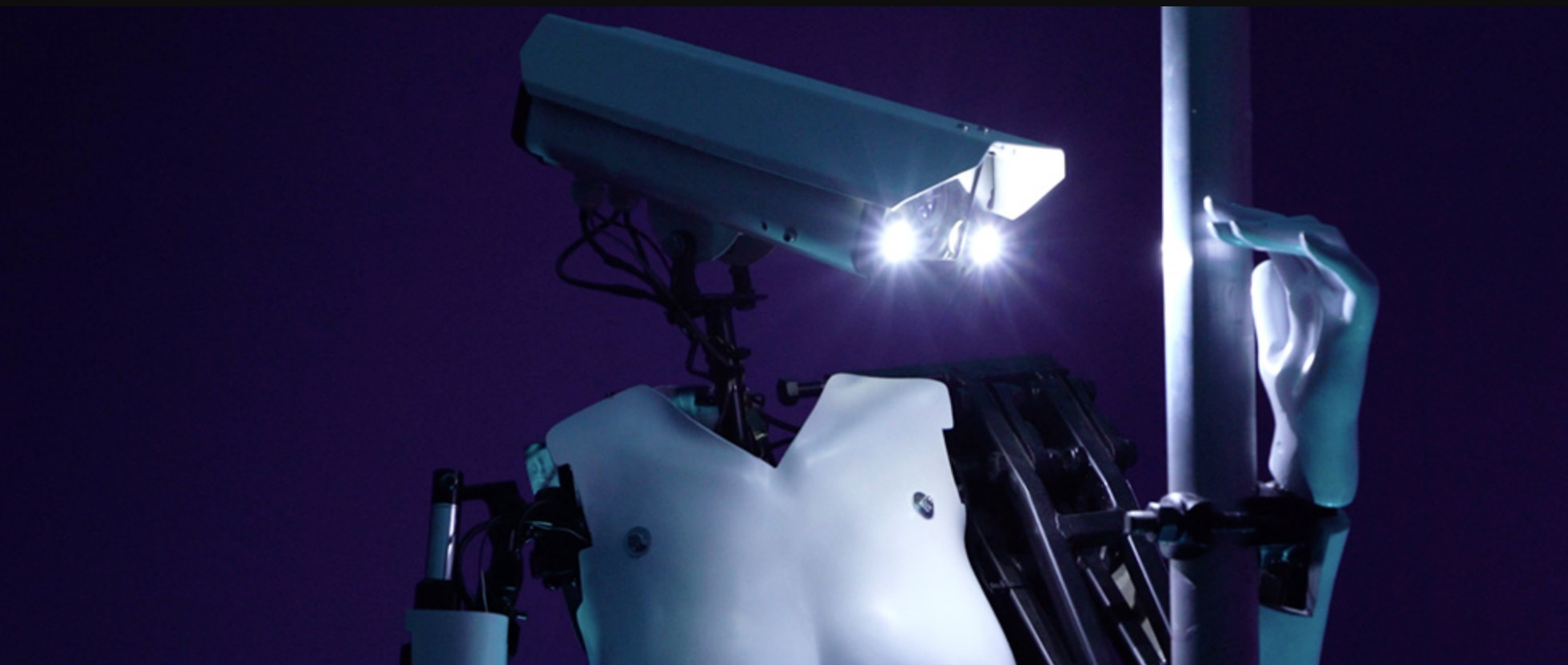 That's just a security camera for a head, isn't it?