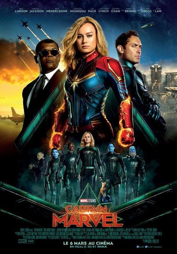 Captain Marvel International Movie Poster