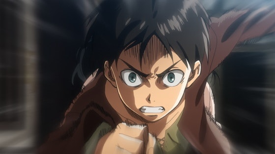 Even before his mother was killed, Eren was a total hothead.