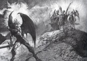 paradise lost lucifer satan