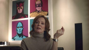 Jean Smart plays Laurie Blake in 'Watchmen' on HBO.