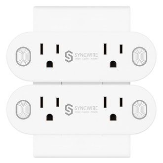 Syncwire [2 in 1] Mini Wi-Fi Smart Plug - [2-Pack]