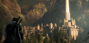 Minas Ithil before it's corrupted into Minas Morgul.