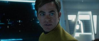 Captain Kirk in 'Star Trek Beyond'
