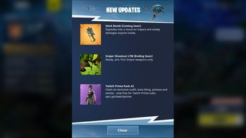 The Stink Bomb was made official in 'Fortnite: Battle Royale'.