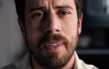 Toby Kebbell plays Sean Turner, who's going through a lot right now.