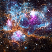 NASA's Vivid Image of NGC 6357 Lobster Nebula Composed of Different Wavelengths