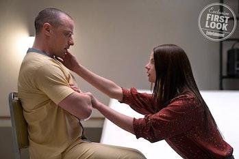 James McAvoy andAnya Taylor-Joy in 'Glass'.
