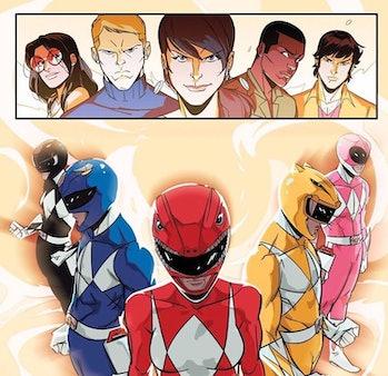 Power Rangers BOOM Comic
