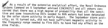 Excerpt from US Navy Report