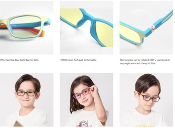Protect kids eyes from blue light