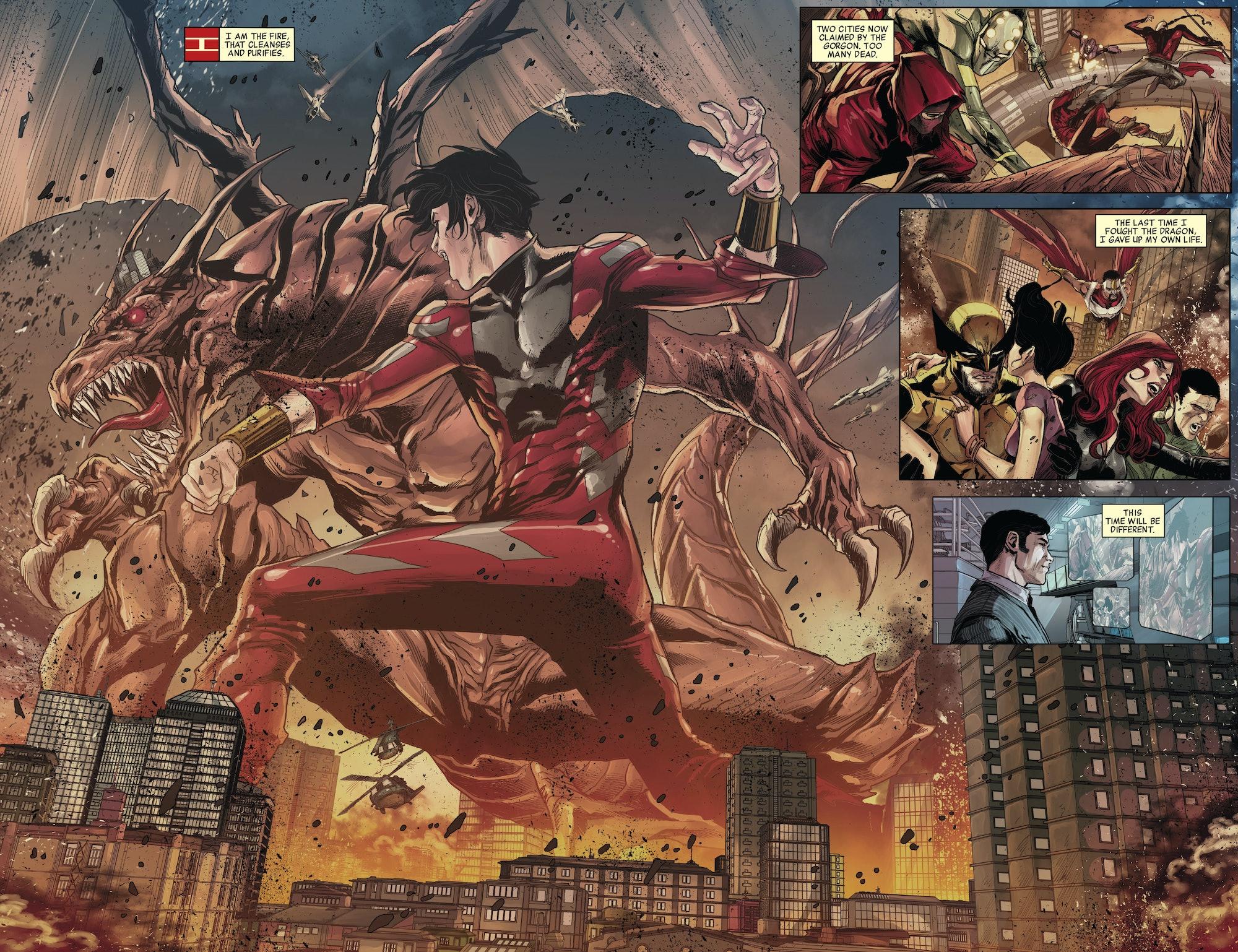 Shang Chi Avengers World Fin Fang Foom