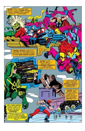 Marvel Skrull-Kree War