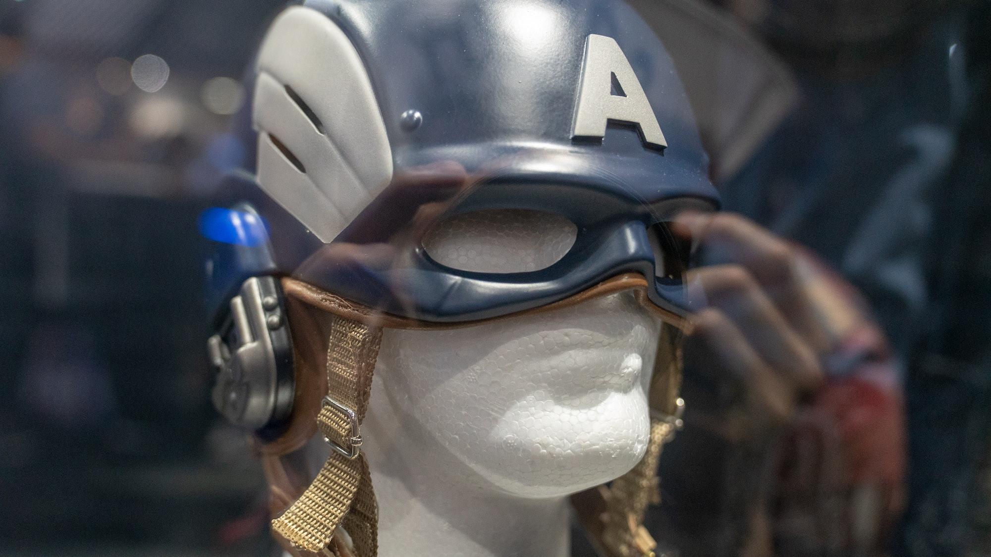 Captain America's helmet in 'Marvel's Avengers'