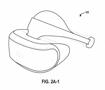 playstation vr headset patent wireless