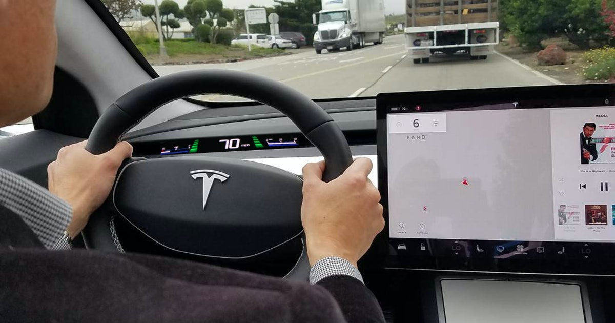 This Tesla Dashboard Concept Solves the Model 3's Biggest ...