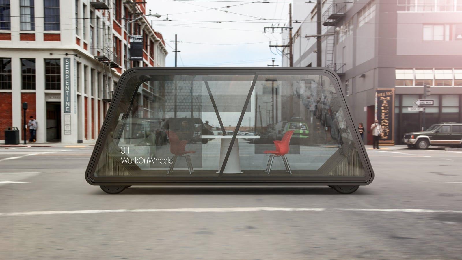 Ideo autonomous office concept.