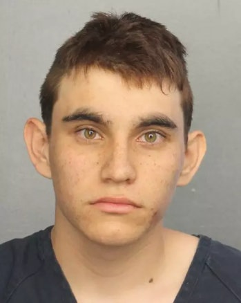 Nikolas Cruz' arrest photo, or mug shot.