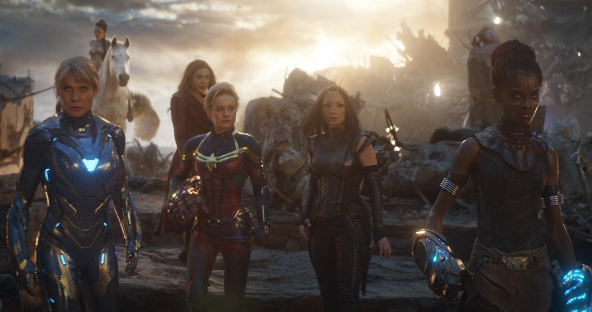 Captain Marvel Avengers Endgame