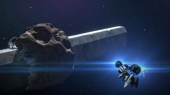 Sidonia itself is massive and built into what looks like an asteroid.